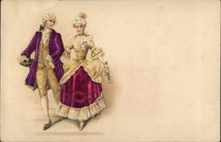 18th Century Gentleman and Lady
