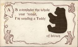 Embossed Teddy Bear