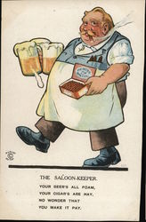 THE SALOON KEEPER