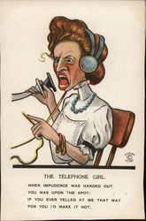 THE TELEPHONE GIRL.