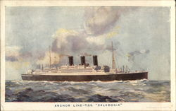 T.S.S. Caledonia - Anchor Line