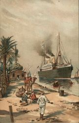 Large Steamer, Egypt