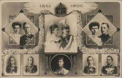 Portraits of the German Royal Family from 1881 to 1906