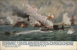 The Battle of the Monitor and Merrimac