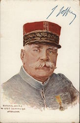 General Joffre 9U GQG 30 AVRIL 1915 JF BOUCHOR