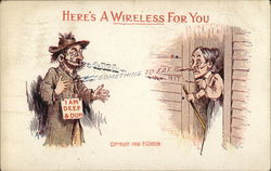 Here's a Wireless for You Postcard