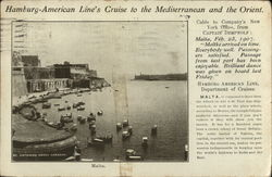 Hamburg-American Lines' Cruise to the Mediterranean and the Orient