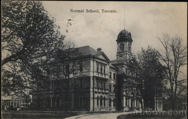 Normal School Toronto Canada Misc. Canada