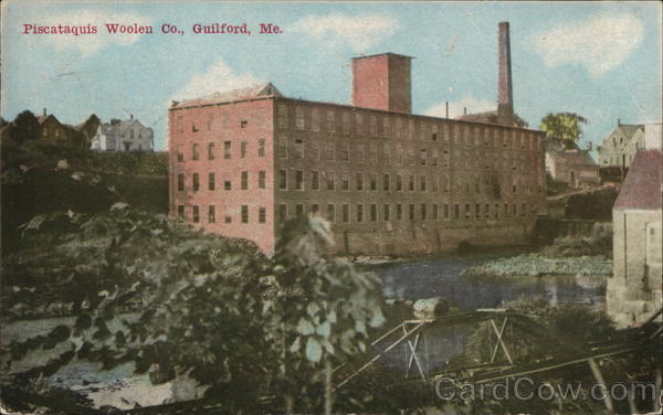 Piscataquis Woolen Co Guilford Maine