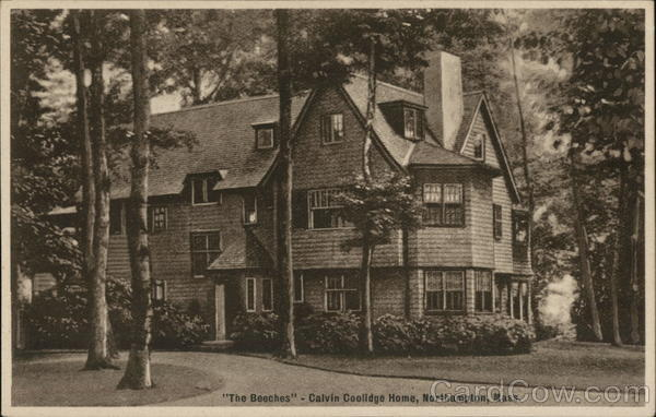 The Beeches - Calvin Coolidge Home Northampton Massachusetts