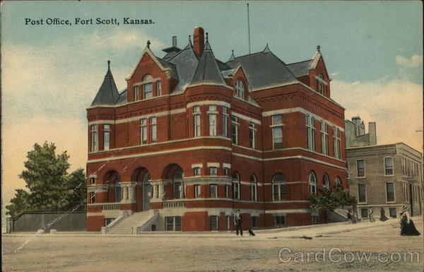 Post Office Fort Scott Kansas