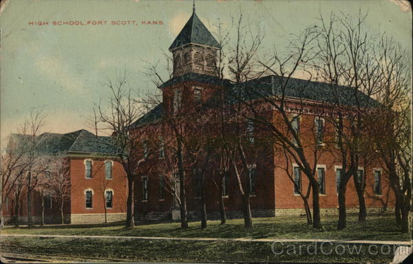 High School Fort Scott Kansas