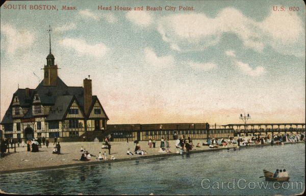 Head House and Beach City Point South Boston Massachusetts
