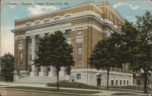Ivanhoe Masonic Temple Kansas City Missouri