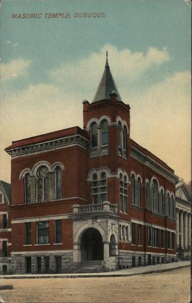 Masonic Temple Dubuque Iowa