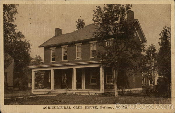 Agricultural Club House Bethany West Virginia