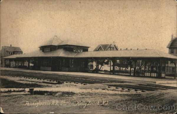 Pennsylvania RR Station, Holly Beach Wildwood New Jersey