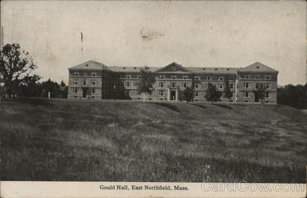 Gould Hall East Northfield Massachusetts