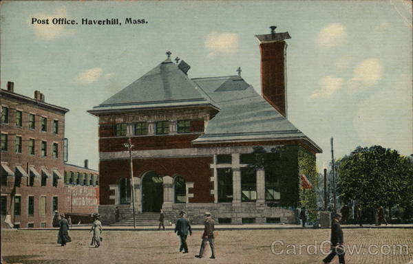 Post Office Haverhill Massachusetts