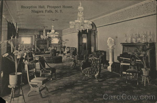 Reception Hall, Prospect House Niagara Falls New York