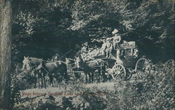 Stagecoach between Spofford Lake and Keene