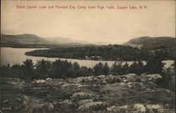 Great Squam Lake and Harvard Eng. Camp from High Path