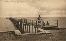 Westbrook Pier, length 767 feet