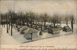 Ottawa Tent Colony fro Care of Tuberculosis