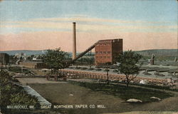 Great Northern Paper Co. Mill Postcard