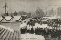 Ex-President Roosevelt Leaving Capitol March 4, 1909