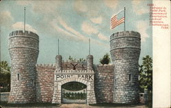Entrance to Point Park, Government Reservation, Lookout Mountain