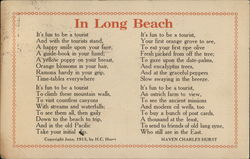 Poem about Long Beach
