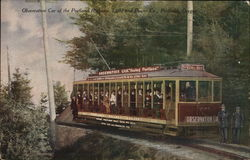 Observation car of the Portland Rothany, Light and Power Co.