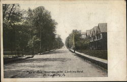 Penn Ave. near Hospital, Looking West