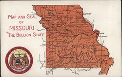 Map and Seal of Missouri