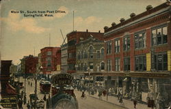Main St. South from Post Office