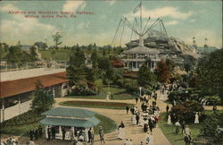 Airships and Mountain Scenic Railway, Willow Grove Park