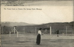 Tennis Courts, Hunters Hot Springs Hotel
