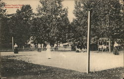 Wawasee Inn Tennis Court