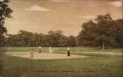 Tennis Court, Campbell's Island