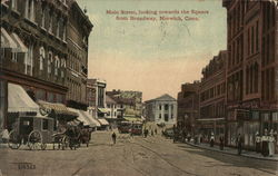 Main Street, Looking Towards the Square from Broadway