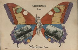 Greetings From Meriden Butterfly
