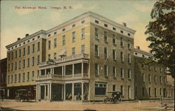 The Ah-wa-ga Hotel Postcard