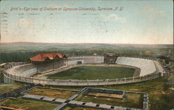 Bird's Eye View of Stadium at Syracuse University