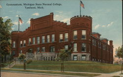 Gymnasium, Michigan State Normal College