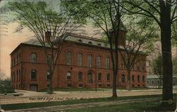 Town Hall & High School, Park St.