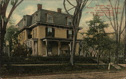 Home of Hannibal Hamlin, Vice President of United States