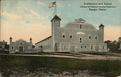 Auditorium and Annex, Home of Eastern Maine Festival