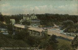 New Meadows Inn and New Bridge