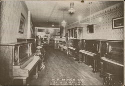 W.F. Minck Co. Pianos